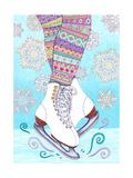Winter Wonderland 2 - Color Giclée-tryk af  Hello Angel