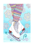 Winter Wonderland 2 - Color Giclee Print by  Hello Angel