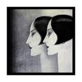Deco Giclée-Druck von Vintage Lavoie