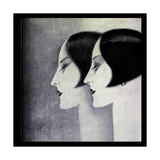 Deco Gicléetryck av Vintage Lavoie