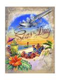 Seas Day Giclée-Druck von James Mazzotta