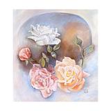 Rosas Impressão giclée por Judy Mastrangelo