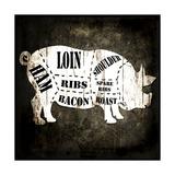 Butcher Shop I Giclée-Druck von  LightBoxJournal