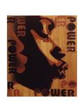 Power Kiss Giclée-Druck von  Abstract Graffiti