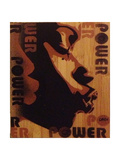 Power Kiss Stampa giclée di  Abstract Graffiti