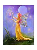 Dew Drop Fairy Giclee Print by Judy Mastrangelo