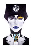 Blue Lip Giclée-tryk af  Minjae