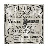 Paris Bistro III Gicléedruk van  Color Bakery