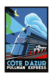 Travel Rail 0014 Giclee Print by Vintage Lavoie