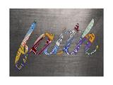 Faith Sign Metal Reproduction procédé giclée par  Design Turnpike