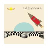 Reach for Your Dreams 2 Impressão giclée por Tammy Kushnir