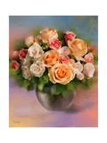 Bouquet Reproduction procédé giclée par  Skarlett