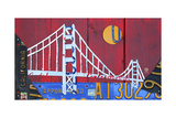 Golden Gate Reproduction procédé giclée par  Design Turnpike