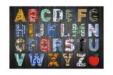 Big Alphabet Reproduction procédé giclée par  Design Turnpike