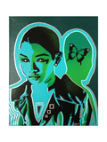Android V Butterfly Giclee-trykk av  Abstract Graffiti