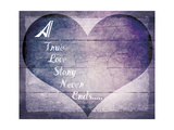 A True Love Story Never Ends Stampa giclée di  LightBoxJournal