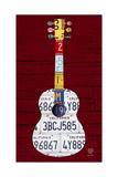 Guitar 1 Reproduction procédé giclée par  Design Turnpike