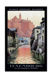 Travel Rail 0010 Giclee Print by Vintage Lavoie