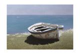 Weathered Boat Lámina giclée por Zhen-Huan Lu