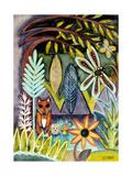 The Fox and the Hedgehog Reproduction procédé giclée par  Wyanne