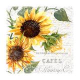 Summertime Sunflowers II Giclee-trykk av  Irina Trzaskos Studios