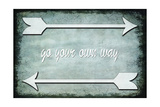 Choose Path - Go Own Way Stampa giclée di  LightBoxJournal