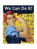 Rosie Reproduction procédé giclée par  Design Turnpike