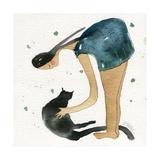 Big Diva Cat Scratch Reproduction procédé giclée par  Wyanne