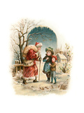Vintage Xmas 4 Giclee Print by  Vintage Apple Collection