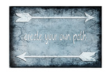 Choose Path Giclée-Druck von  LightBoxJournal