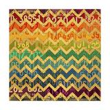 Patterns in the Road 1 Reproduction procédé giclée par  Design Turnpike
