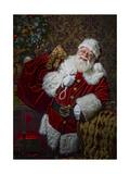Santa Giclee Print by  Santa's Workshop