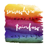 Somewhere Giclee Print by  Color Bakery