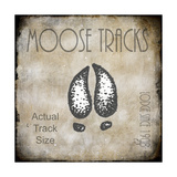 Moose Lodge 2 - Moose Tracks 2 Lámina giclée por  LightBoxJournal