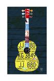 Guitar 2 Giclee Print by  Design Turnpike