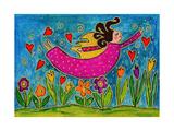 Big Diva Sprinkling Garden with Love Reproduction procédé giclée par  Wyanne