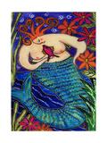 Big Diva Redhead Mermaid Reproduction procédé giclée par  Wyanne