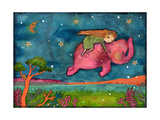 Come Dream with Me Giclee Print by  Wyanne