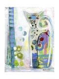 Chat tricolore Reproduction procédé giclée par  Wyanne