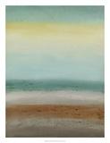 Seaside Serenity I Impressão giclée premium por June Vess