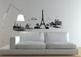Paris City Of Love Adesivo de parede