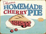 Cherry Pie Blechschild