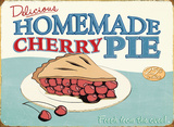 Cherry Pie Tin Sign