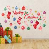 Merry Christmas Decalcomania da muro