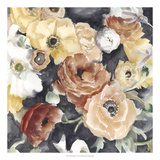 Floral Composition I Premium Giclee Print by Megan Meagher