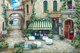 Trattoria Di Lugano Art by Roger Duvall