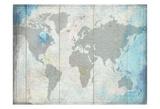 O Mundo Posters por Sheldon Lewis