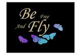 Be Free Láminas por Sheldon Lewis