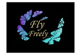 Fly Freely Pósters por Sheldon Lewis