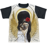 Youth: Pets Rock- Tattoo Angel Black Back T-shirts